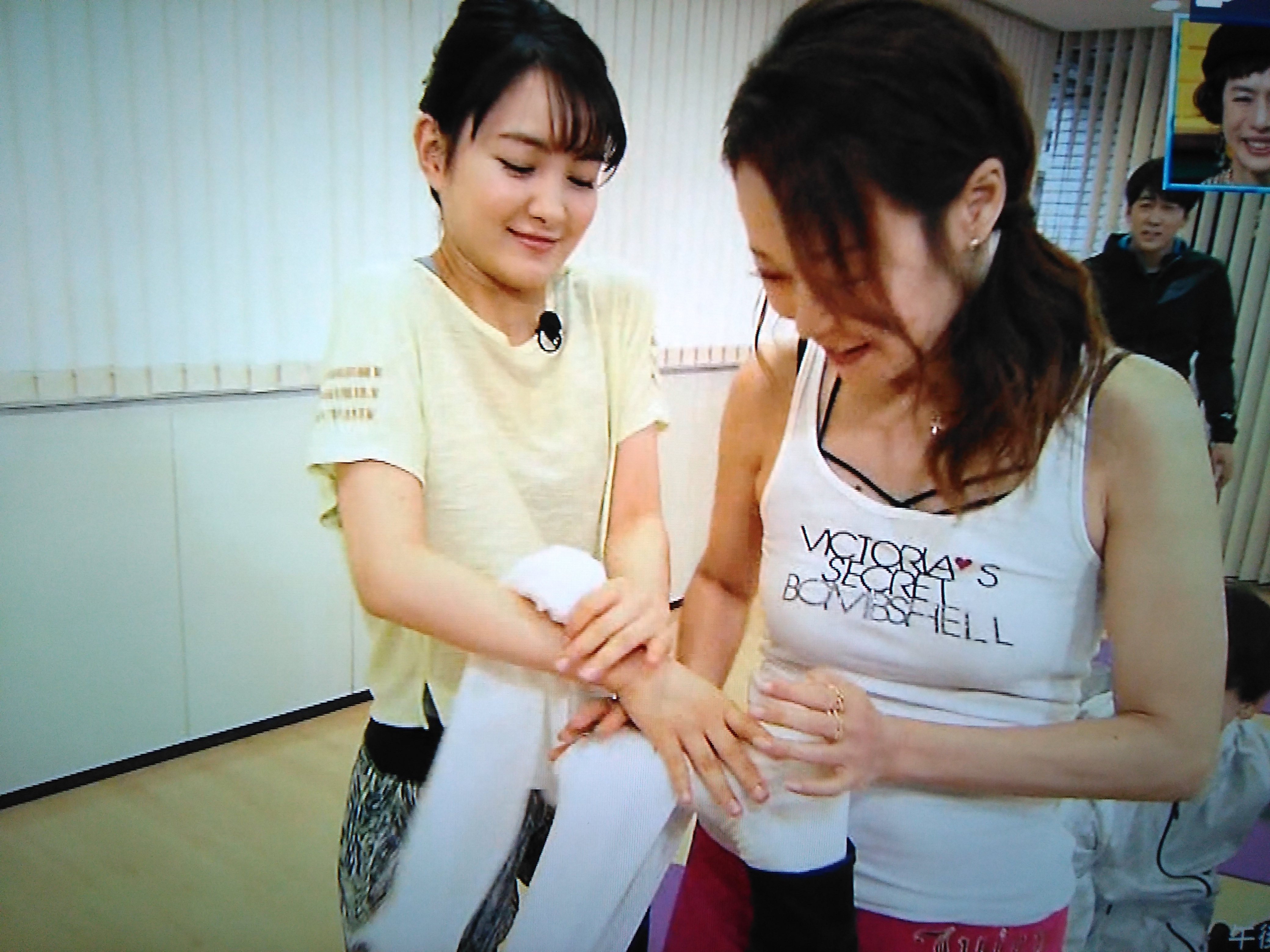 一応、葵わかなさんがやってきて、ニノの足を押し「いてててて!」と言う掛け合いはあったので、ニノだけ完全スルーじゃなくて良かった~。