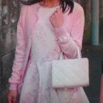 「高嶺の花」芳根京子の衣装をプチプラで真似できる!フェミニンピンクの花柄ワンピースでお嬢様ファッション!