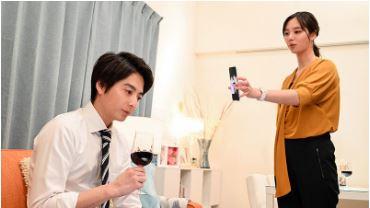 ギルティ3話新川優愛衣装マスタード色のカットソー