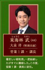 ハケンの品格キャスト東海林(大泉洋)