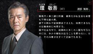 犯罪症候群Season1環敬吾(渡部篤郎)