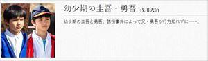 ミラーツインズ圭吾勇吾子役浅川大治