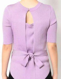 「私の家政婦ナギサさん」多部未華子衣装3話紫ニット