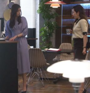 「SUITS」新木優子衣装3話ワンピース