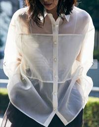 「私の家政夫ナギサさん」5話多部未華子衣装シースルーシャツ