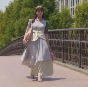 「私の家政夫ナギサさん」9話最終回メイ多部未華子衣装コルセットスカート