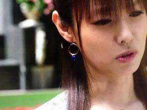 「ルパン娘」深田恭子衣装1話ピアスイヤリング