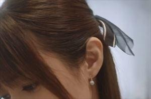 ドラマ「ルパンの娘2」3話三雲華(深田恭子)衣装イヤリングピアス
