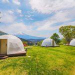 「着飾る恋には理由があって」3話予告のキャンプ場のロケ地はどこ?人気のドーム型テントで富士山が見える絶景宿をご紹介!