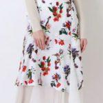 「着飾る恋には理由があって」5話の真柴くるみ(川口春奈)の衣装!花柄のシフォンレイヤードスカートがかわいい!